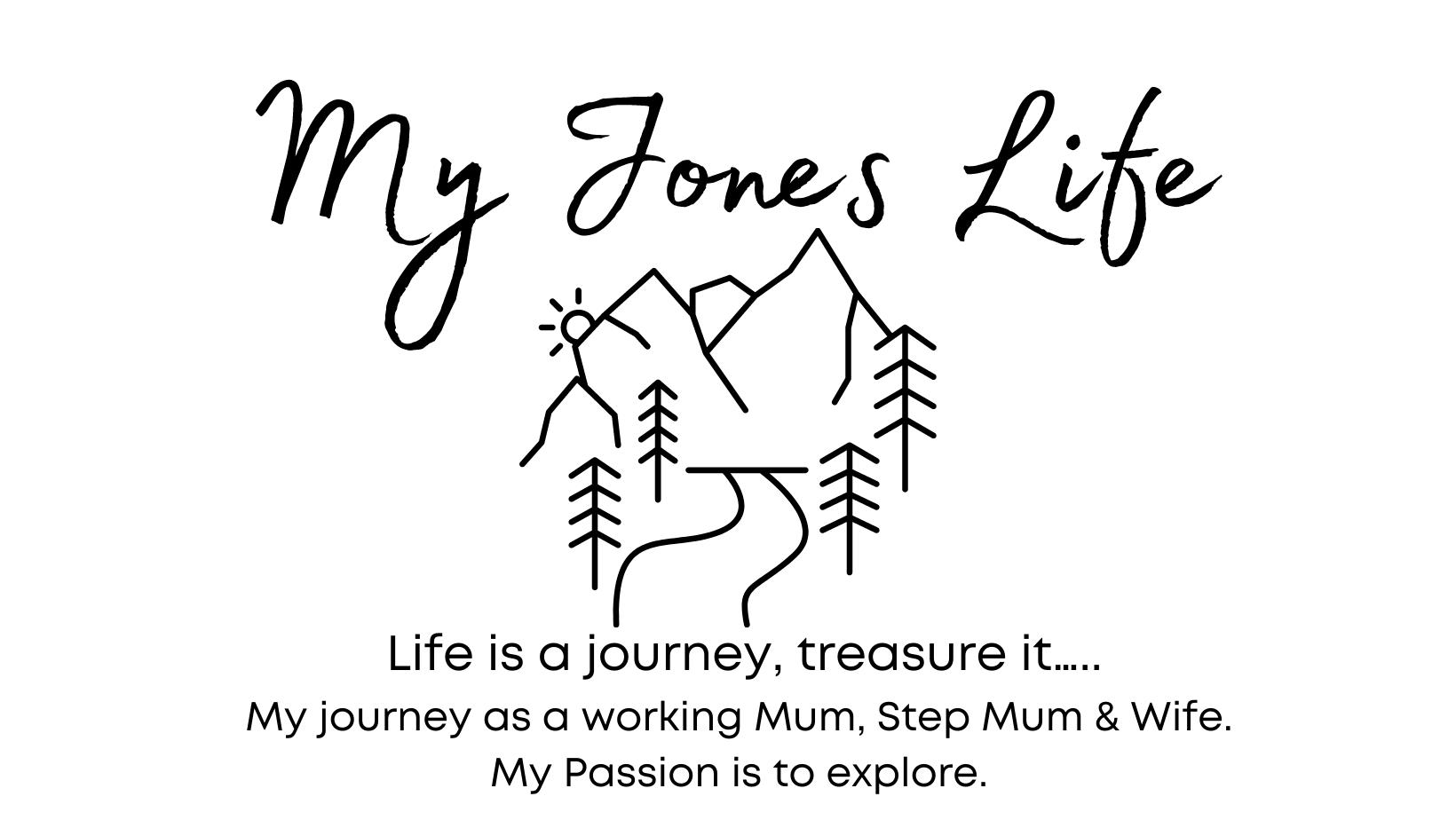 My Jones Life Logo & Caption Banner